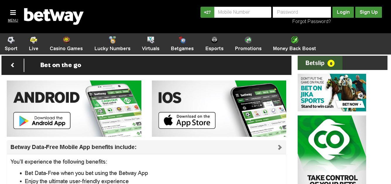 Casino Apps Betway