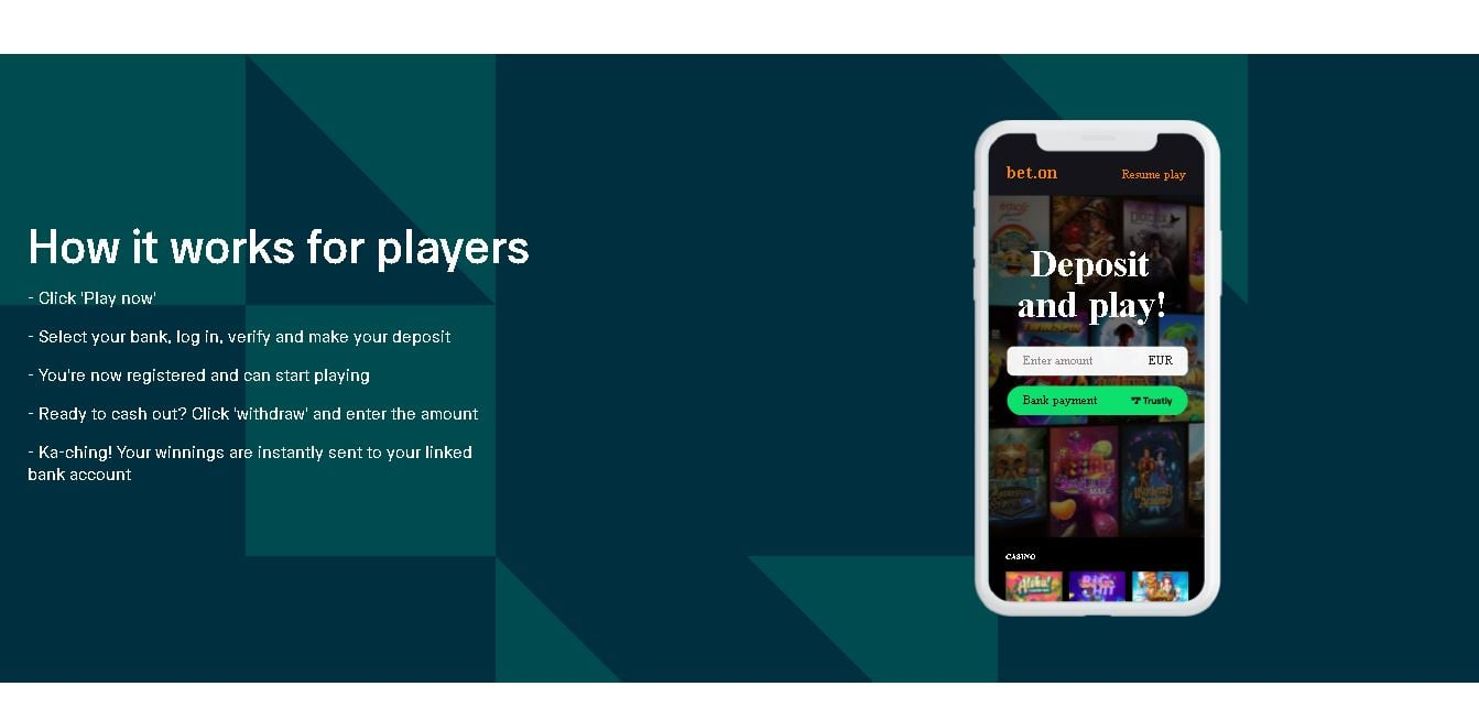 Pay N Play Casinos online