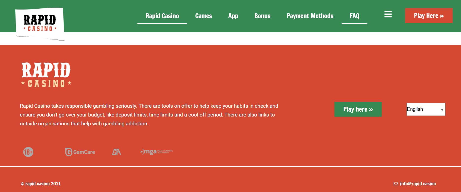 Casino Licence Rapid Casino